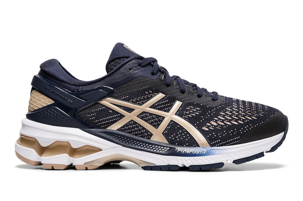 Asics Gel Kayano 26 test chaussure route