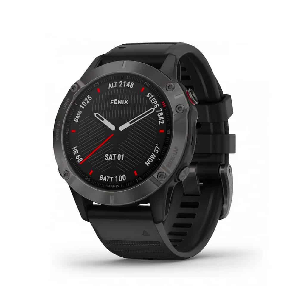 Garmin Fenix 6 montre cardio-gps