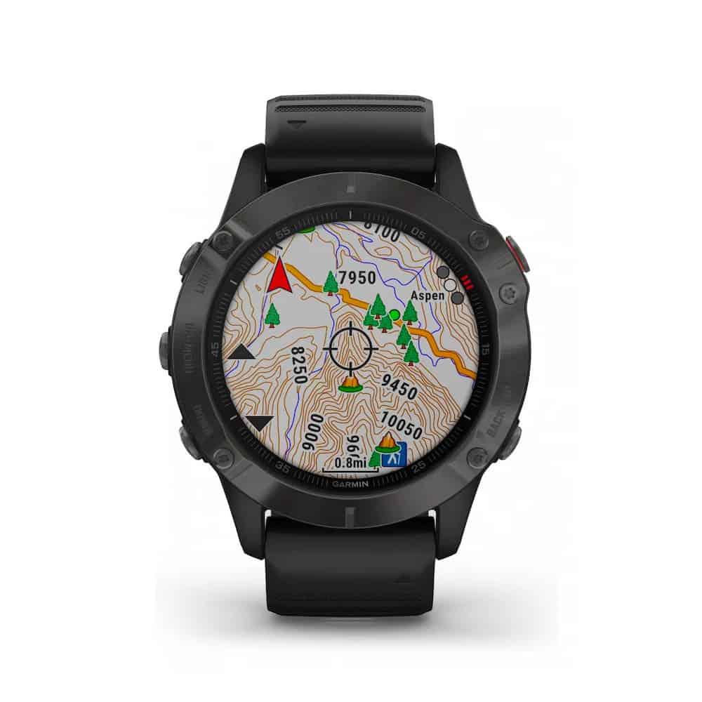 Garmin Fenix 6 cartes GPS