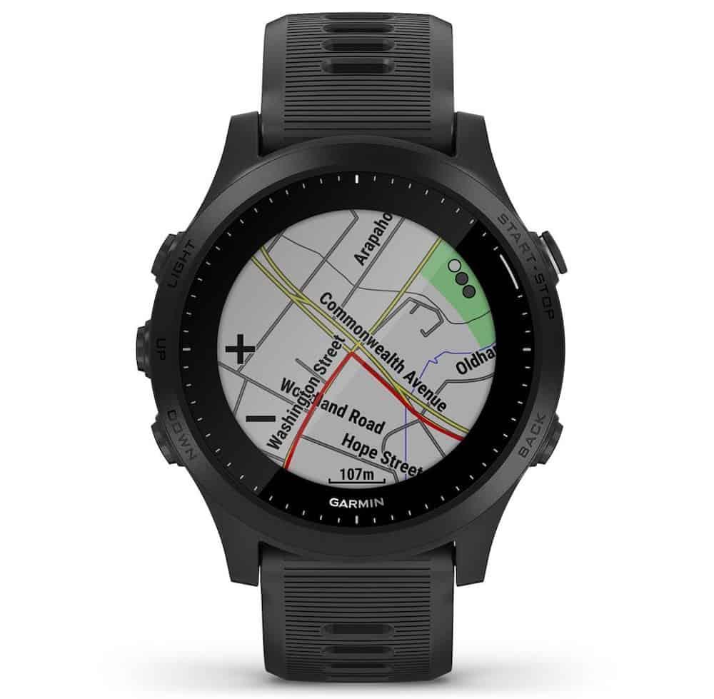 Garmin Forerunner 945 cartes GPS
