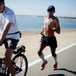 Meb Keflezighi Running course a pied