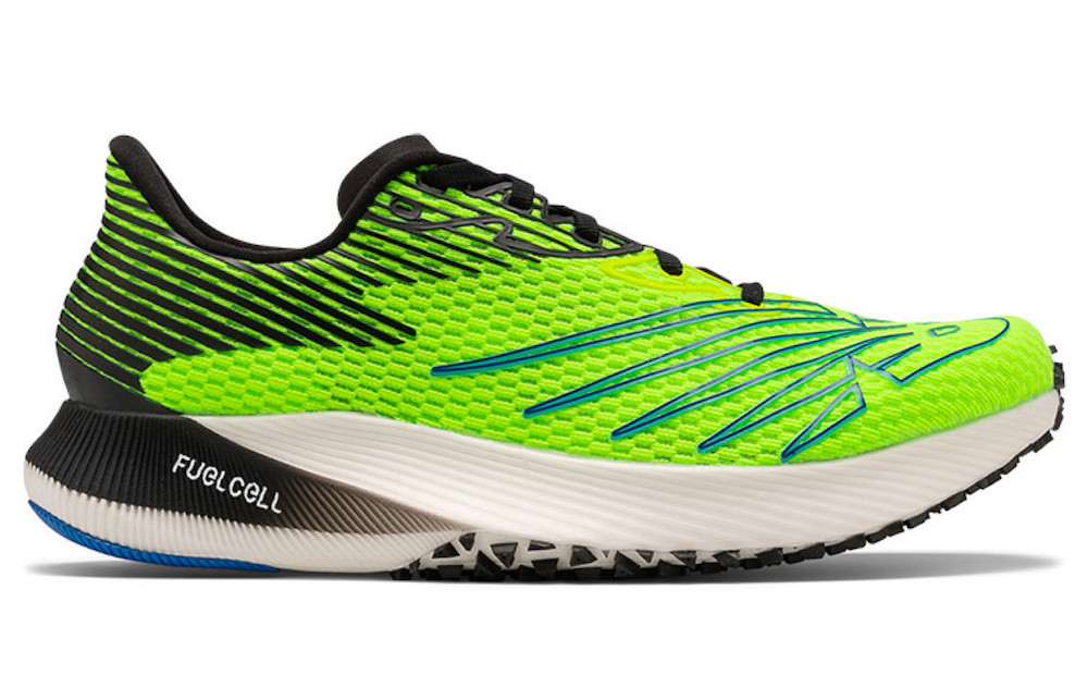 New Balance FuelCell RC Elite test chaussure running lame carbone