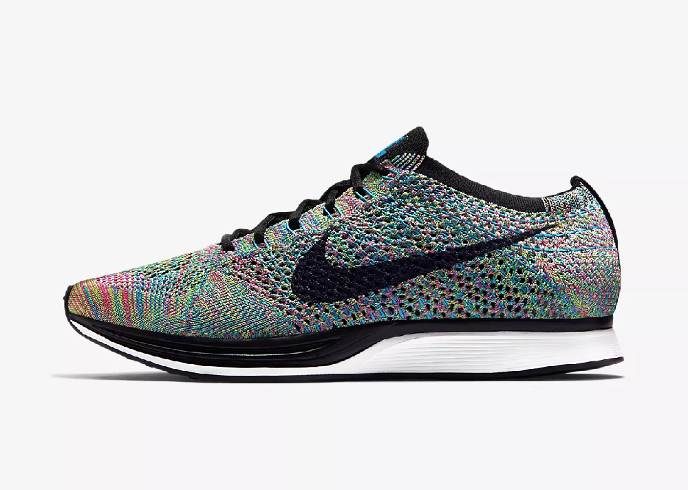 Nike Flyknit Racer running sneakers multi couleurs