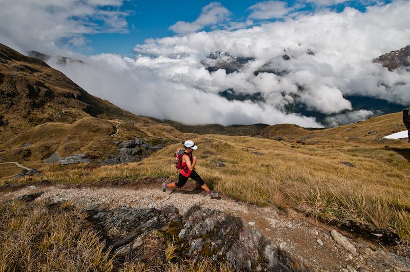 Courir en montagne chaussures running