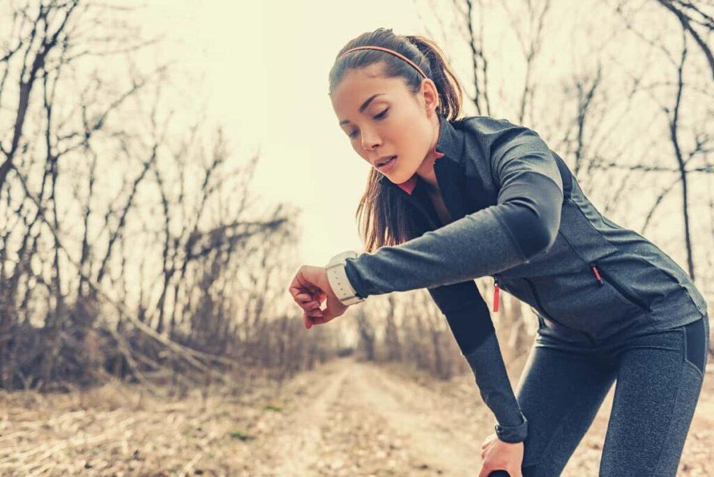 Ergonomie montre gps running