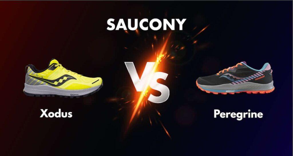 Saucony Xodus vs Peregrine comparaison